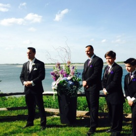 The Groom, and groomsmen.. how handsome is my friend?