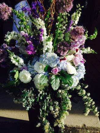 The flower arrangements were tdf. Just beautiful