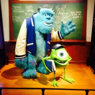 Sully and Mike!