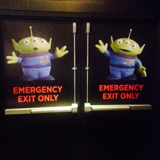 Even the exits were so fun!