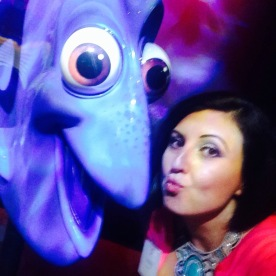 Kissy face with my pal Dory