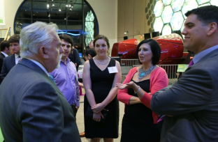 Then.... I said get over it and we ended up... talking to John Ratzenberger.. no big deal. Photo from MOS, Eric Workman