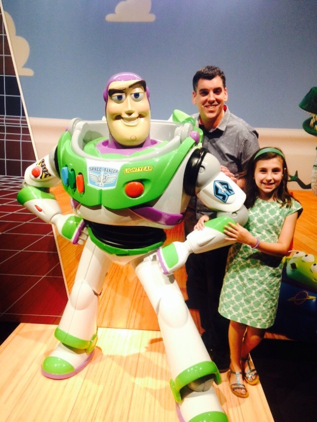 My husb and oldest w Buzz