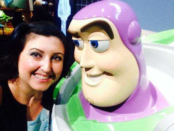 I got my selfie with Buzz