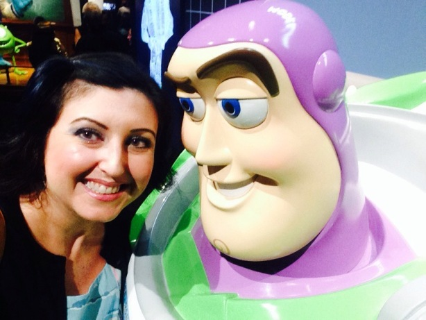 I got my selfie with Buzz