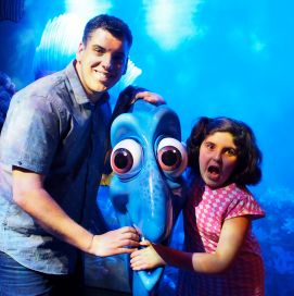 Dory... and my daughter who can't be serious to save her life