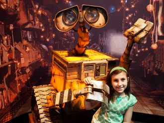 She loves Wall-e