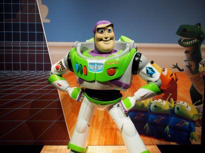 Upon entering, you face Buzz