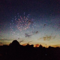 FIreworks in my town
