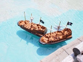 Super cute Pirate Ships