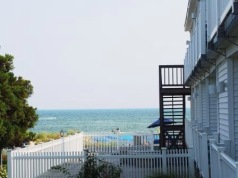 Blue Water Resort- View from Deck. Room 119
