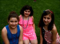 My girls with niece