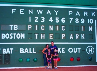 Aw Cute! Picnic in the Park on the Green Monster