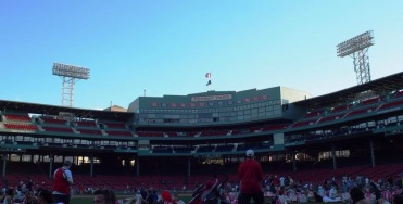 Nightime at Fenway