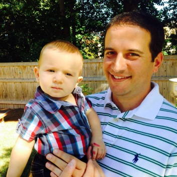 My good friend and his so handsome son. Love this baby boy.