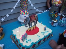 I love this cake the most..but I love elephants!