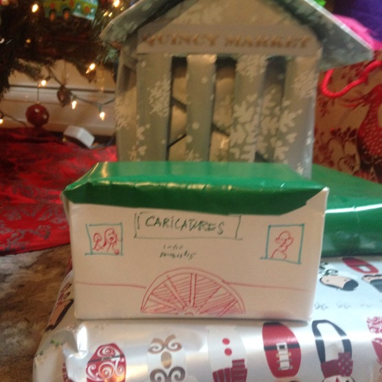 The theme this year was a Faneuil Hall Christmas!