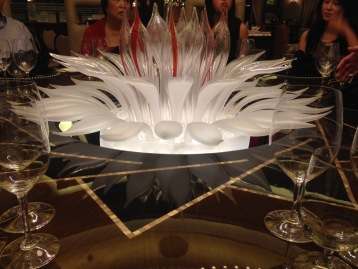 Murano glass centerpiece