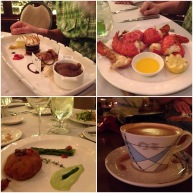 Some of the amazing food we ate