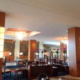 The Hilton Orlando was gorgeous