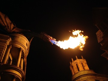 One last dragon fire!