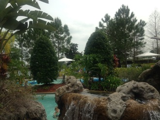 Two pools, a lazy river,