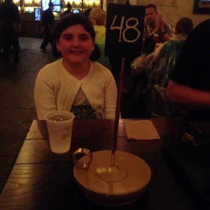 Leaky Cauldron for dessert dinner. :)