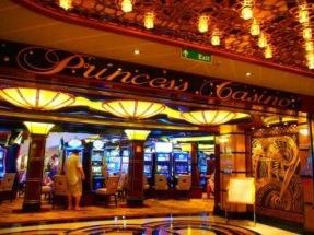 The Regal Princess Casino entrance