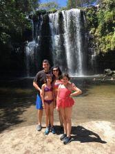 My waterfall family :)