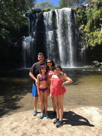 My waterfall family :)