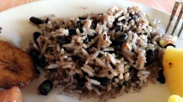 Gallo Pinto is the best breakfast staple.. i miss it