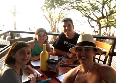 Then... we went out. Our last Dinner in Tamarindo, at Nogui's This place was fantastic.