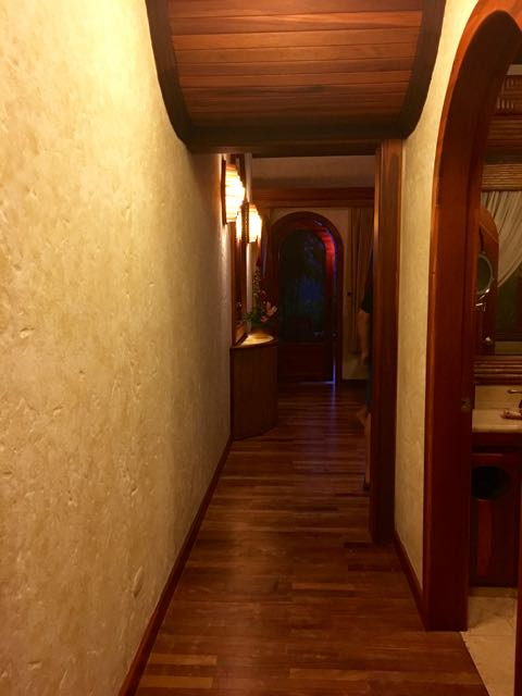 This was the entrance to the room