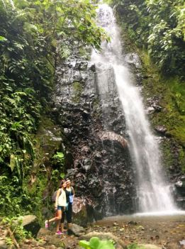 We saw another waterfall