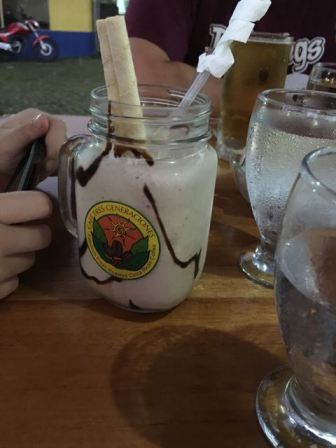 Chocolate milkshakes