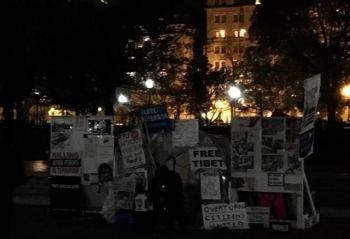 Pennsylvania Ave's Resident Protestor