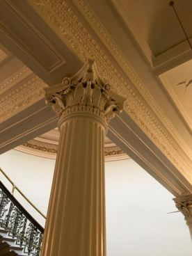 The columns all throughout