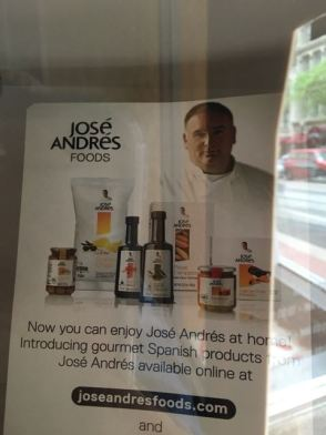 So, I have a HUGE celeb chef crush on Jose Andres...and my husband surprised me with a dinner here. :))))))))))