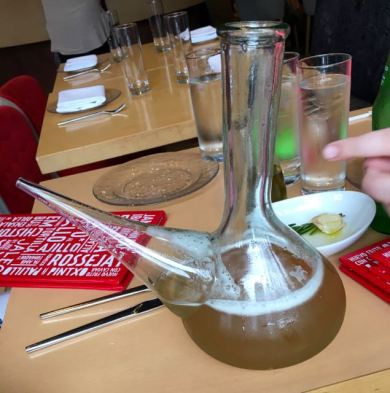 This was not only fun to drink from but TASTED AMAZING!