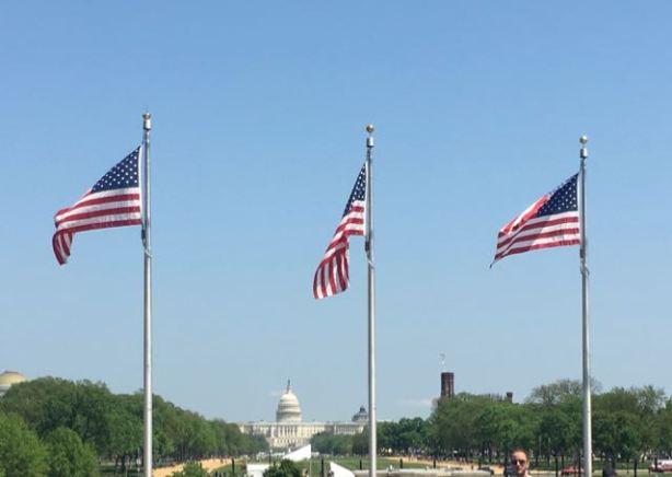 Walk to the Washington Memorial