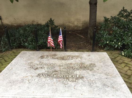 Betsy Ross's Burial site
