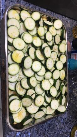 zucchini prep