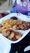 The food was AMAZING.. this was my oldest dish, shrimp
