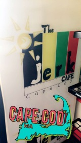 We always get take out the first night, and we tried the Jerk Cafe