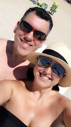 Beach sweethearts
