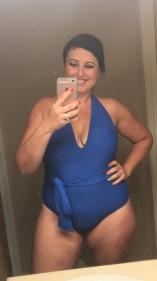 DAY 4! Bathing suit OOTD, jcrew last year.