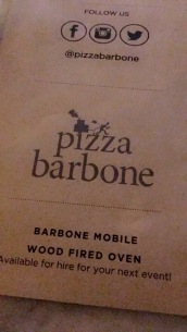 This place is so fracken good. Personal pizzas, but they are so crush into my face worthy..