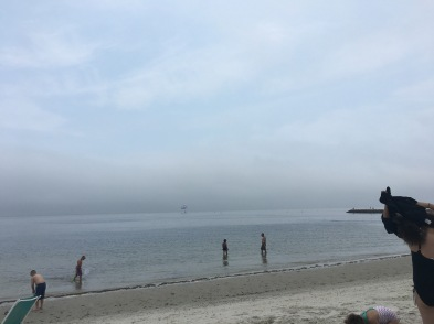 Wicked cloudy day but still beachable!