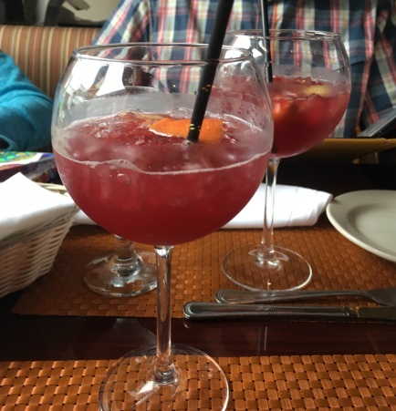 And quite possibly the best sangria!