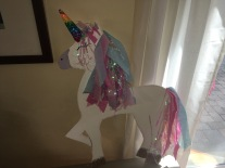 DONE! Cute unicorn decoration